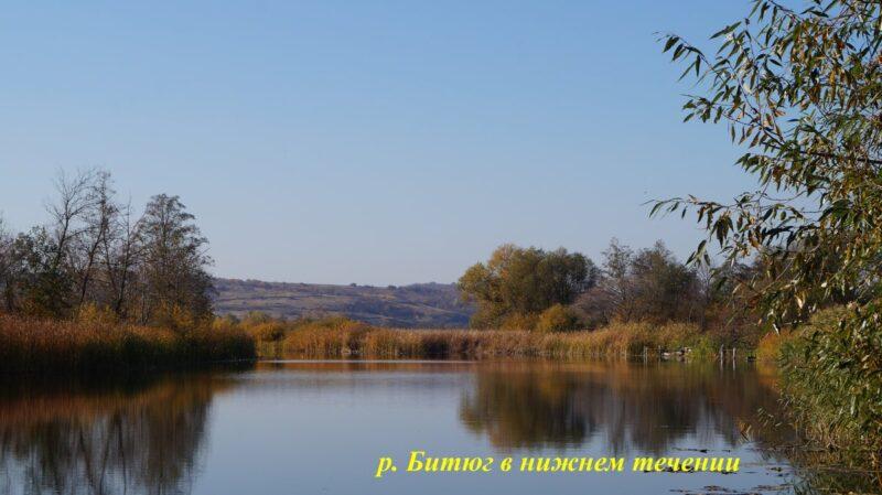 р. Битюг в нижнем течении