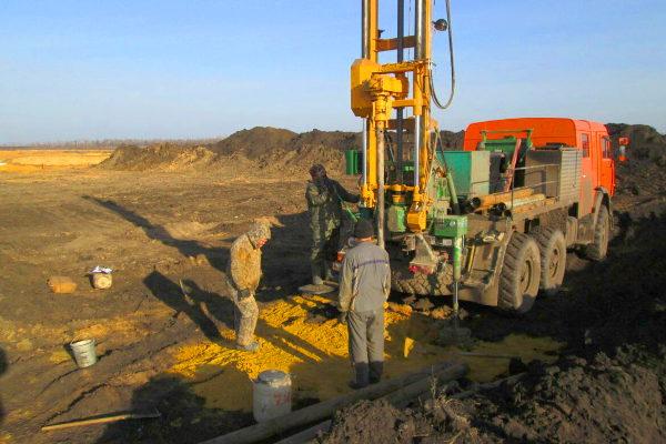 Поиск и разведка полезных ископаемых