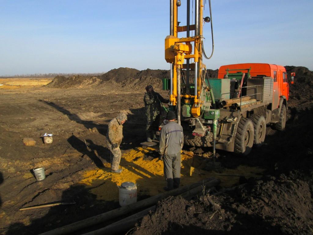 Доразведка на месторождении тугоплавких глин «Большая Карповка» в 2013 г.